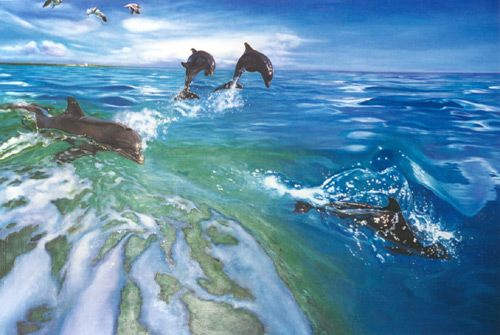 The Dolphins - Brett Livingstone Strong