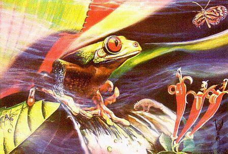 Jurassic Frog - Brett Livingstone Strong