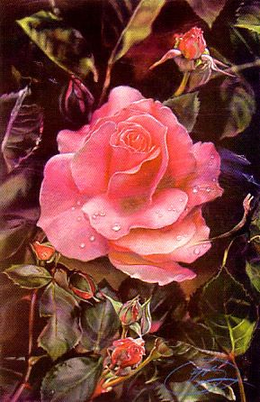 Prehistoric Rose - Brett Livingstone Strong