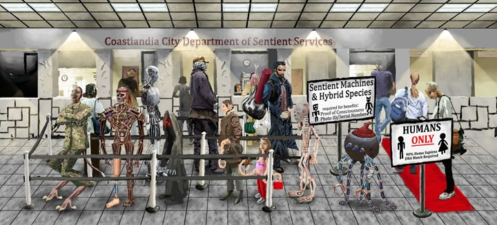 The Department of Sentient Services - Neofeud Art