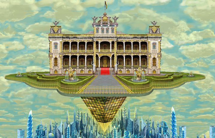 The Fulcrum Palace - Neofeud Art