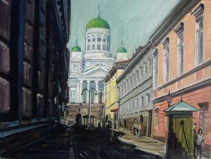 View of Sofiankatu street - Nickyfin