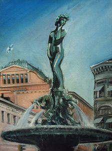 Havis Amanda statue - Nickyfin