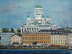 Helsinki Cathedral View from the Sea - Nickyfin