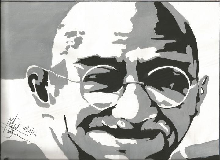 Mahatma Gandhi -  Achalmehta01