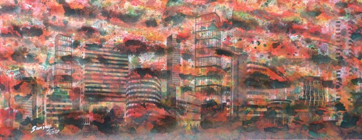 HIDDEN CITY 1 - sanjay mochi art gellery
