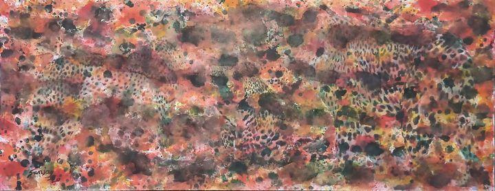 TIGERS IN THE JUNGLE - sanjay mochi art gellery