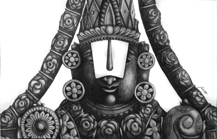 tirupati balaji - sanjay mochi art gellery