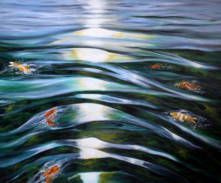 Koi Fish - Shveta Saxena Art