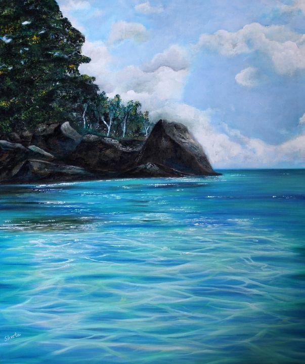 Tranquil - Shveta Saxena Art