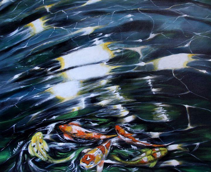 Koi Fish2 - Shveta Saxena Art