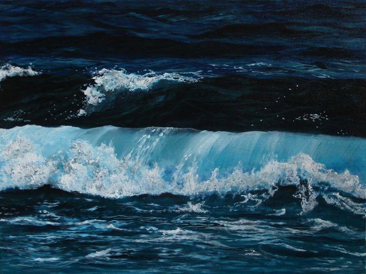 Dance of the Waves - Shveta Saxena Art