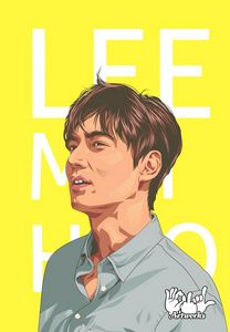 Lee Min Ho Art