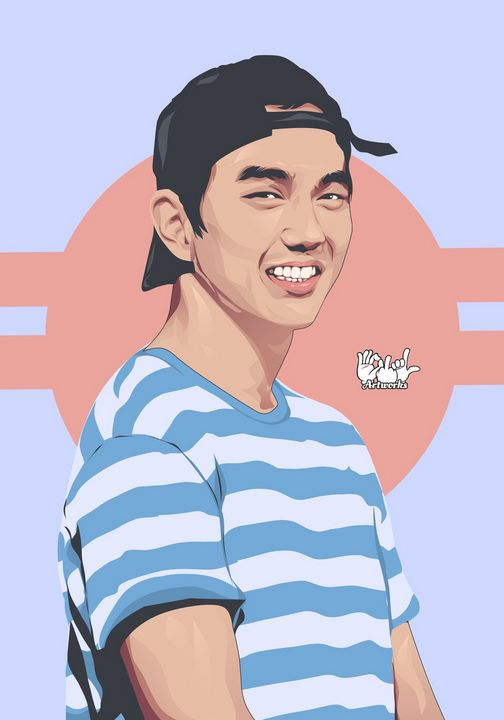 Yoo Seung-ho - Vector and Vexel Art