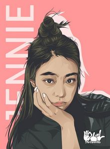 Jennie Kim Art