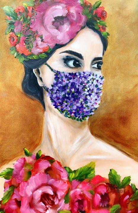 The Flower Mask - Alina Tanase