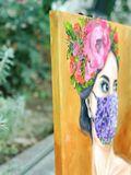 flower mask