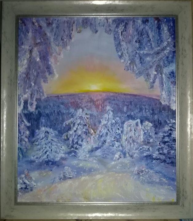 Winter morning - Magic around us