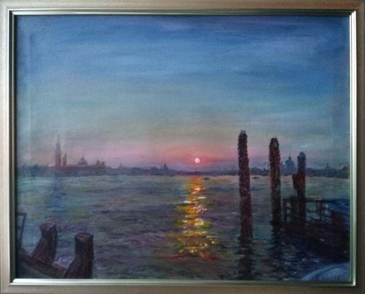 Sunset in Venice. 11.01.13 - Magic around us