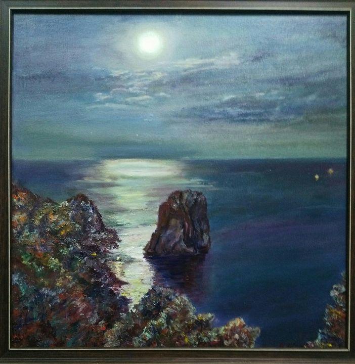 A night on the Capri - Magic around us