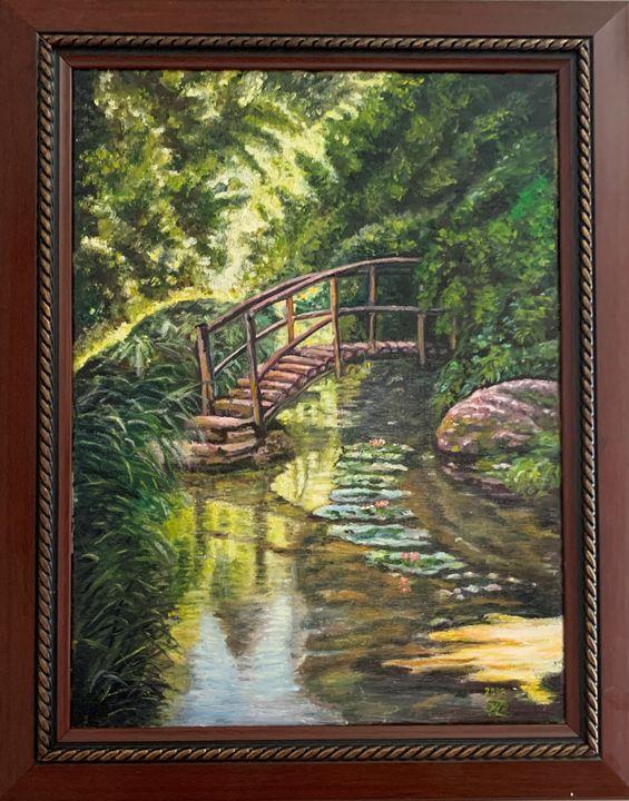 A creek under the bridge - Artrepreneur World
