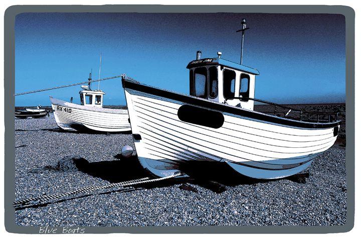 Blue Boats - Lighthouse Publishing