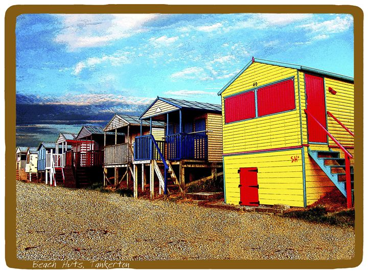 Beach Huts Tankerton - Lighthouse Publishing