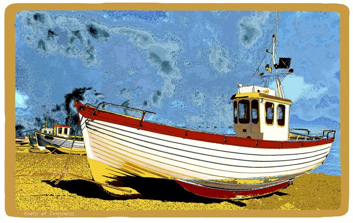 Boats at Dungeness - Lighthouse Publishing