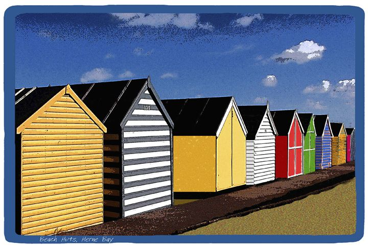 Beach Huts Herne Bay - Lighthouse Publishing