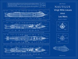 Nautilus Blueprint French A1