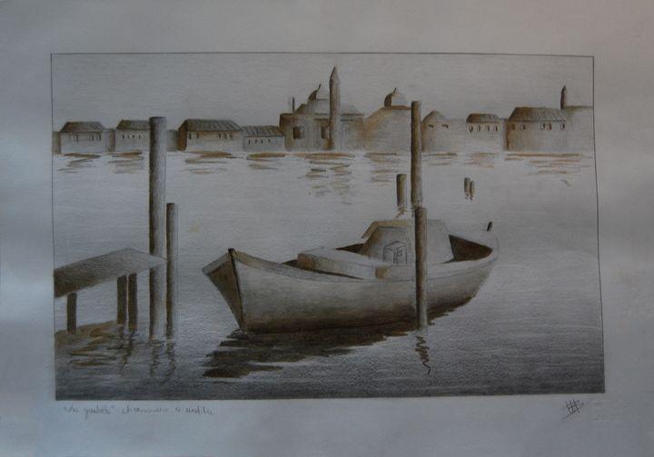 "Drawing ""La gondola"" - Martina Bonaccorso"