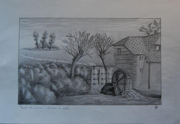 "Drawing ""Thoughts that flow"" - Martina Bonaccorso"