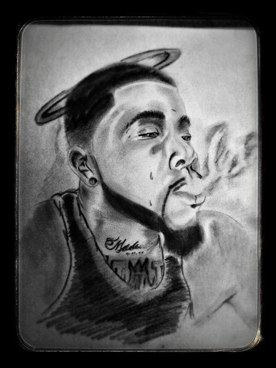 Rip portrait - Zingyboient1 Art
