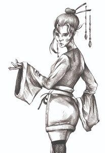 Geisha Illustration