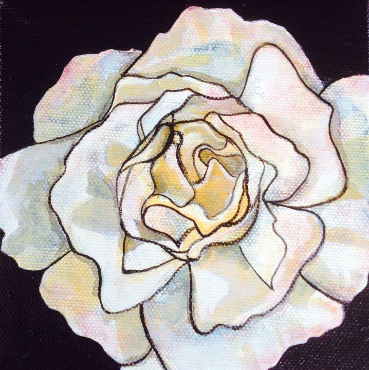 Rainbow Rose - Lisa Maria