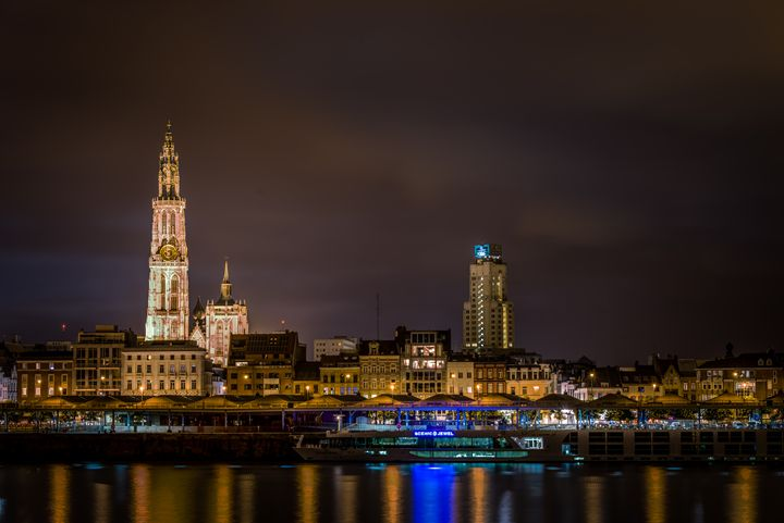 Antwerp by night - Photography Vos