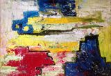 Original abstract oil paiting