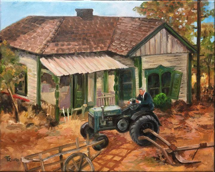 Farm livin' - art