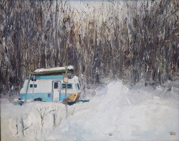 Michigan Winter - art