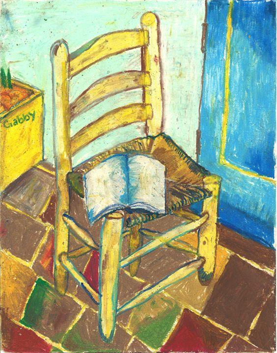 Chair (homage to Van Gogh) - Gabby Heller
