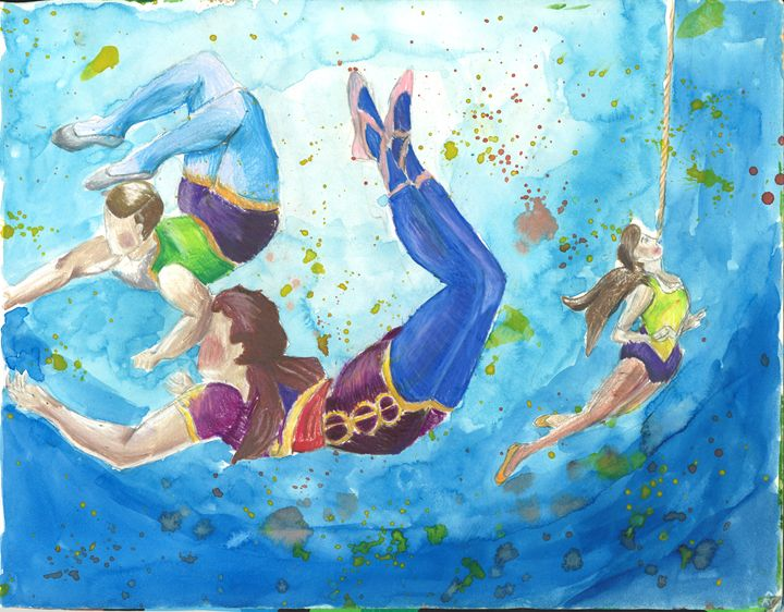 Acrobats - Gabby Heller