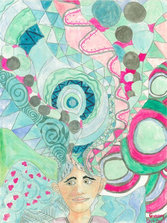 Abstract Head - Gabby Heller