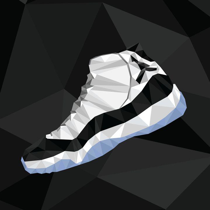 info for 426d8 01e04 Air Jordan Retro 11 Concords - Triangeezy - Digital Art, Sports ...