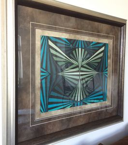 Eagle, Painting Geometric abstract