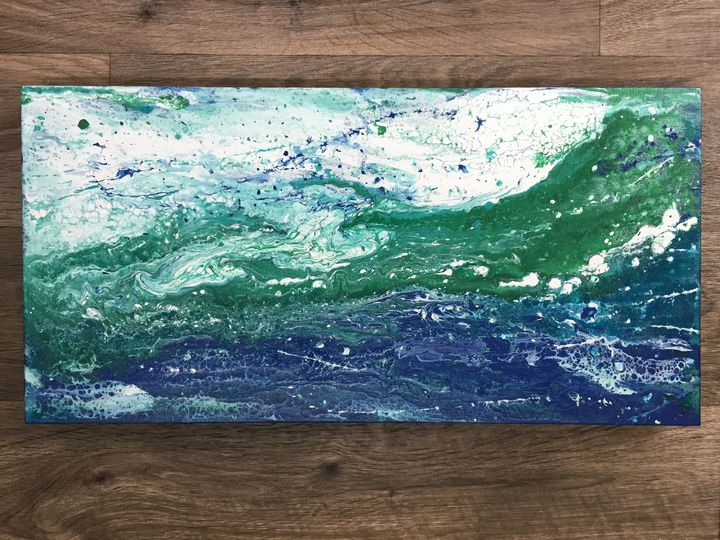 The Merging Ocean - Jaqueline M. Cruz