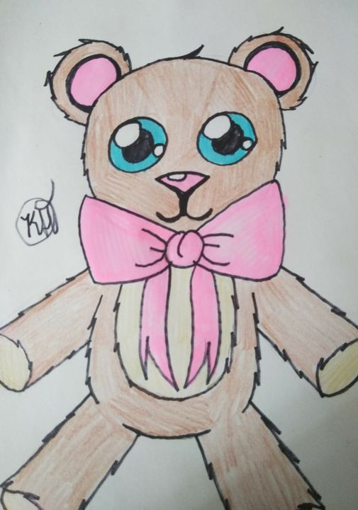 A cute little teddy bear! - Kira Henderson