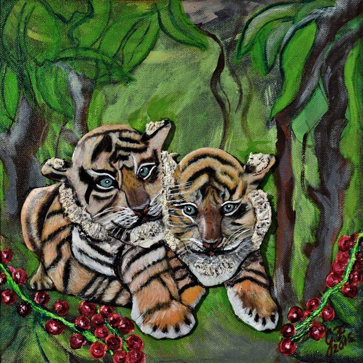 Jungle Babes - 3DLeatherart