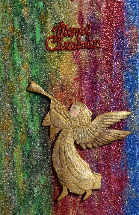 Christmas Angel - 3DLeatherart