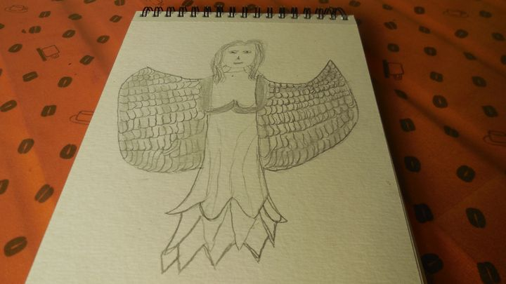 Prototype Angel - Self Portrait? - QuirkyBylinesArt