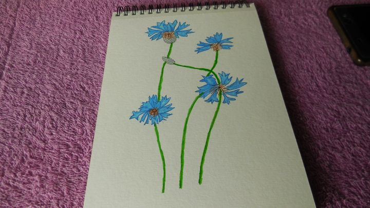 Corny Flowers - QuirkyBylinesArt